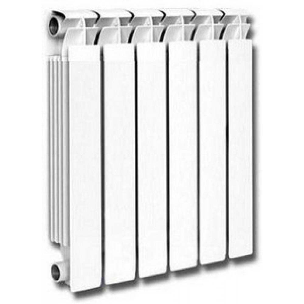 Радиатор алюминиевый 500/80 10 секц. KONNER Lux