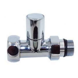 Вентиль для полотенцесушителя прямой Ø1