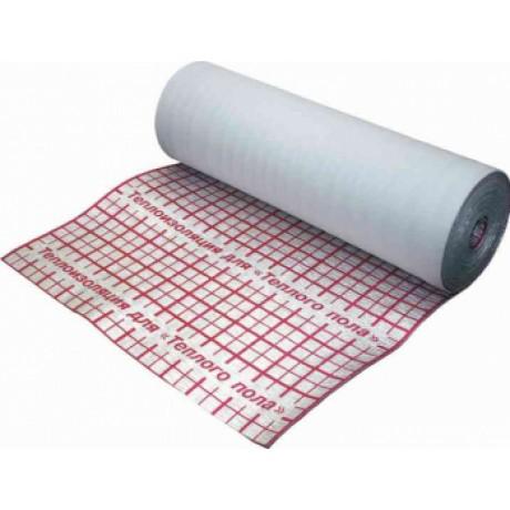 Изоляция рулонная метал. с разметкой 3ммх1,2мх25м (30 м²)