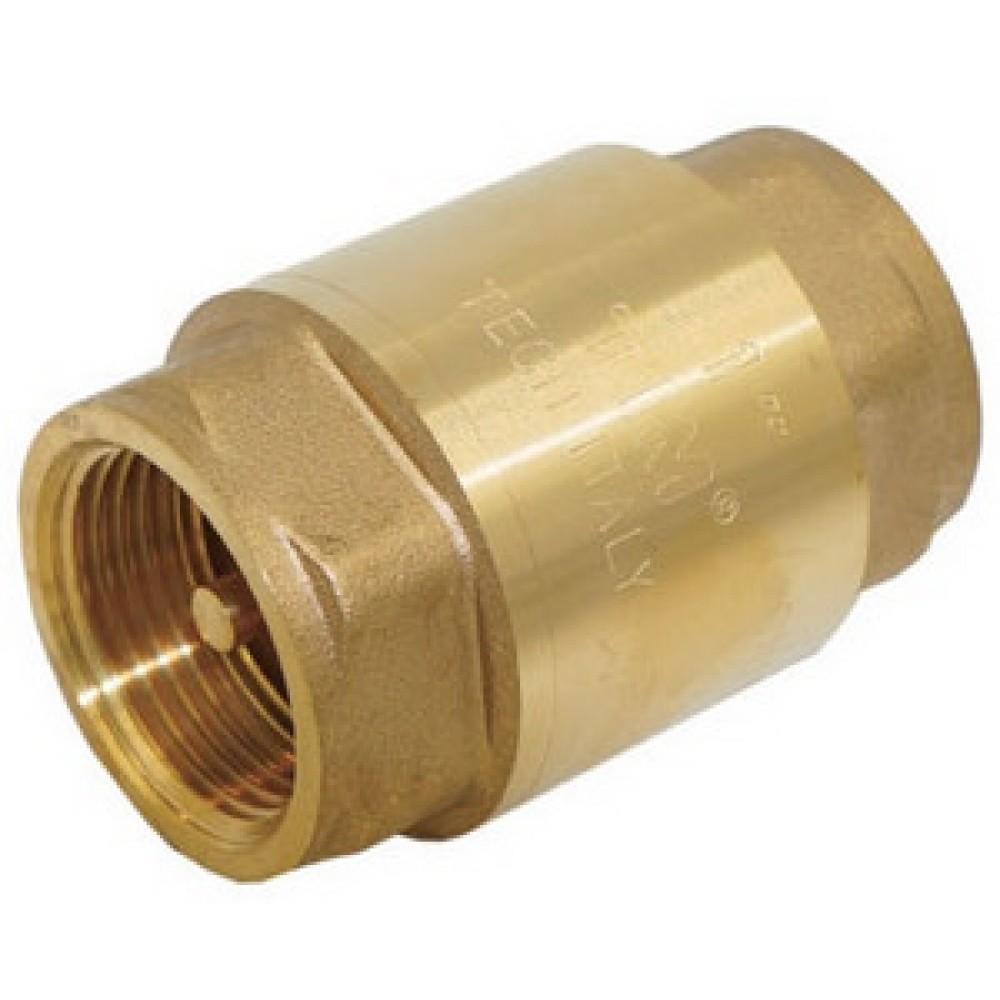 Обратный клапан пружинный Ø1