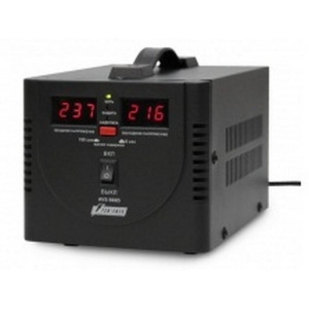 Стабилизатор напряжения POWERMAN AVS 500 D (0,5 кВт) Black