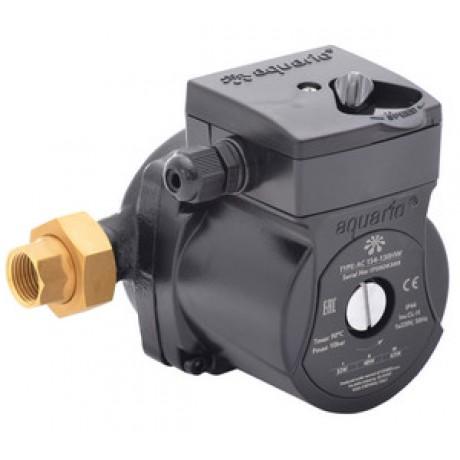 Насос рециркул. для ГВС AQUARIO AC 154-130 HW (мокрый ротор/напор 4м/расход 40л/мин /со шнур.)